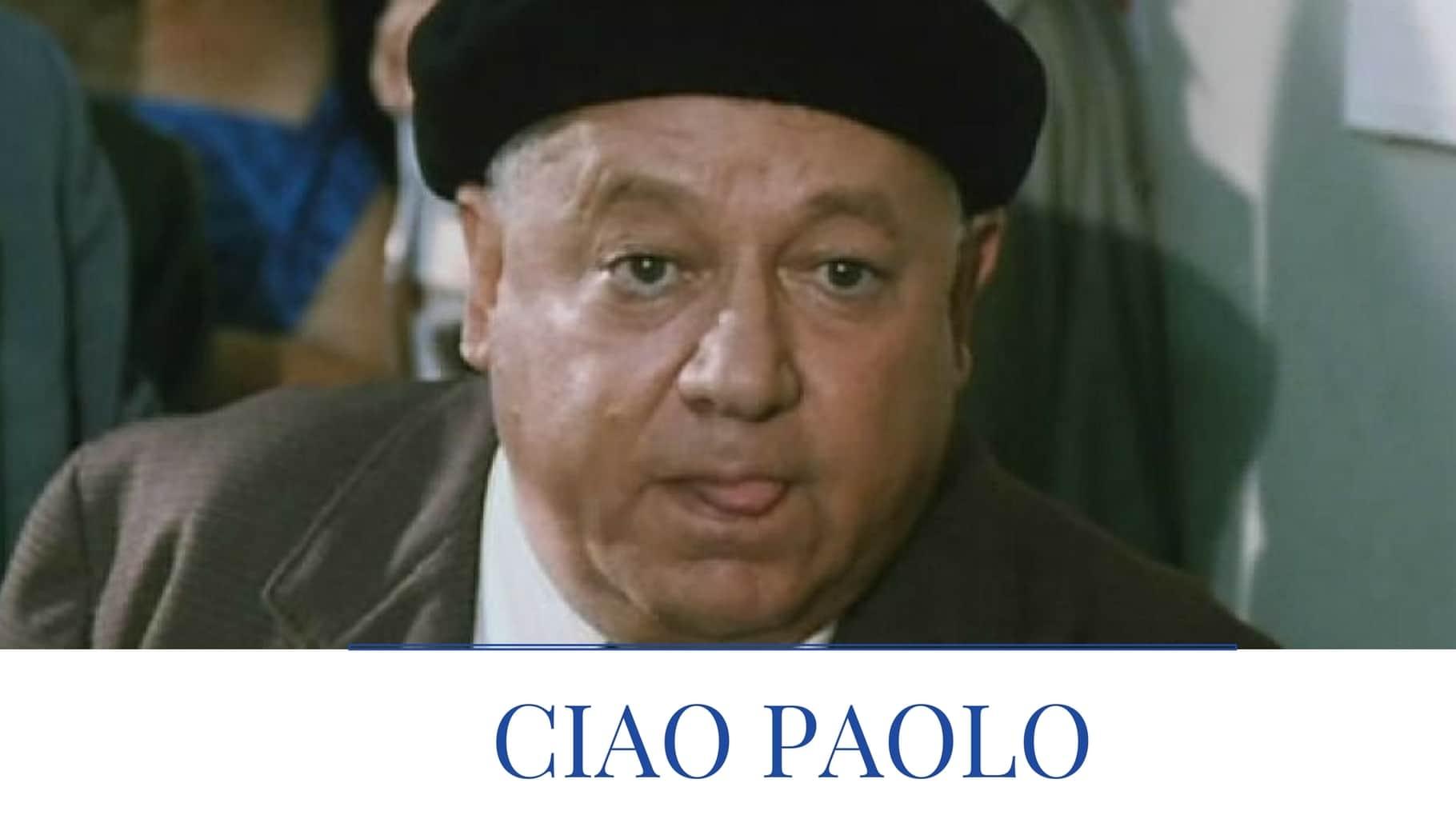 Un tributo a Paolo Villaggio